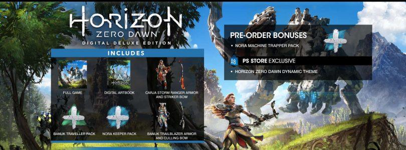 Horizon zero dawn Preorder