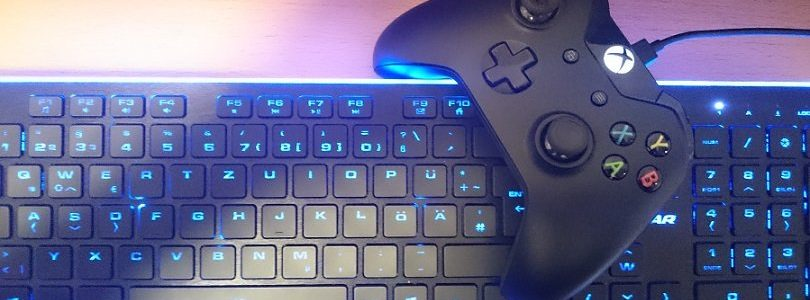 Xbox One - Gamepad, Tastatur
