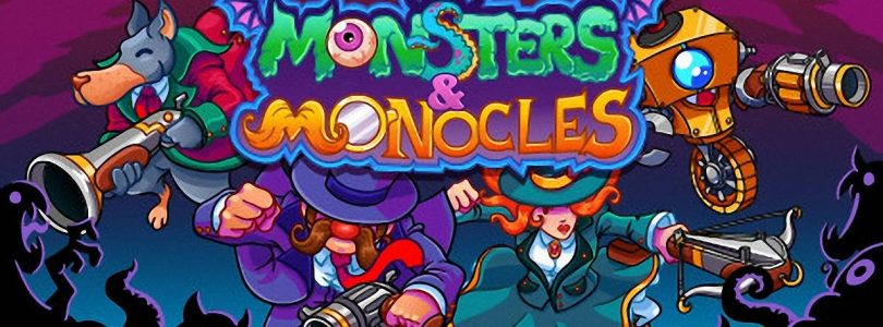 Monsters and Monocles: Farbenfroher Twin-Stick–Shooter im Test