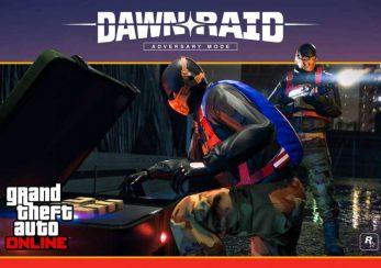 GTA Online Dawn Raid