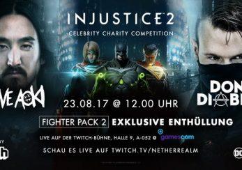 Injustice 2 Gamescom Livestream Banner