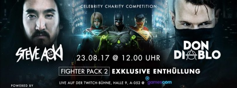 Injustice 2 Gamescom Livestream Banner