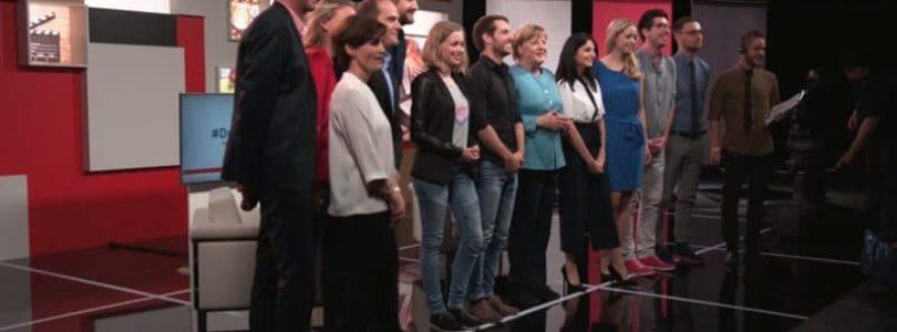 Screenshot Merkel Interview