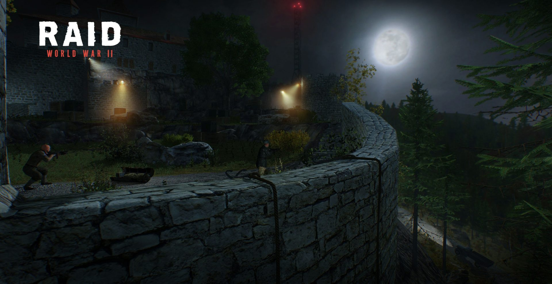Raid Worl War 2 Starbreeze Lion Game Lion