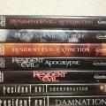 Resident Evil DVDs
