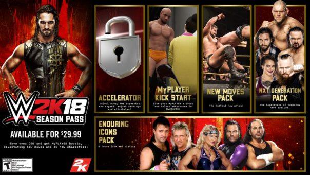 WWE 2K18 DLC
