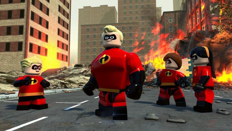 Lego die unglaublichen