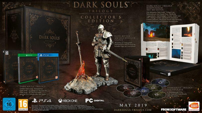 dark souls trilogy collectors edition